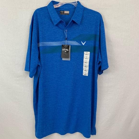05cf9ae5b Callaway Shirts | Nwt Mens Opti Dri Golf Shirt Xxl | Poshmark